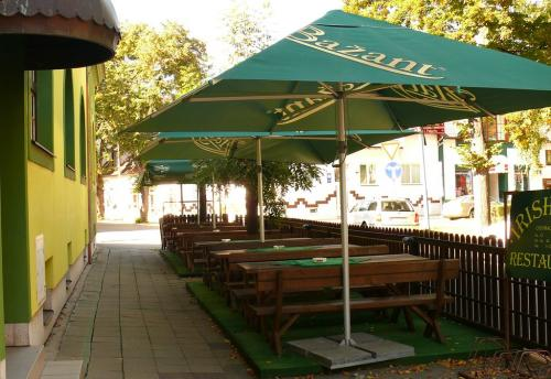 Restaurace Baroko, letní zahrádka v Břeclavi